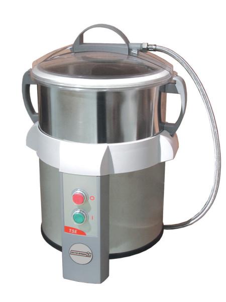 Schälmaschinen Gemüseschneider 5kg mit abrasiver Schälschibe           Elektrisch Netzspannung: 603501 (DT5S) 220-240 V/1N ph/50/60 Hz Anschlusswert: 0.12 kW Gesamt-Watt 0.12 kW Kapazität: Leistung (bis): 80 - kg/h Kapazität: 5 kg Schlüsselinformation Auß