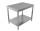 Arbeitstisch - mit Grundboden [Tiefe 60 cm]