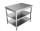 Arbeitstisch - mit Grundboden & Zwischenboden [Tiefe 60 cm]