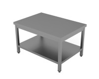 Wok-Arbeitstisch - mit Grundboden [Höhe 60 cm |...